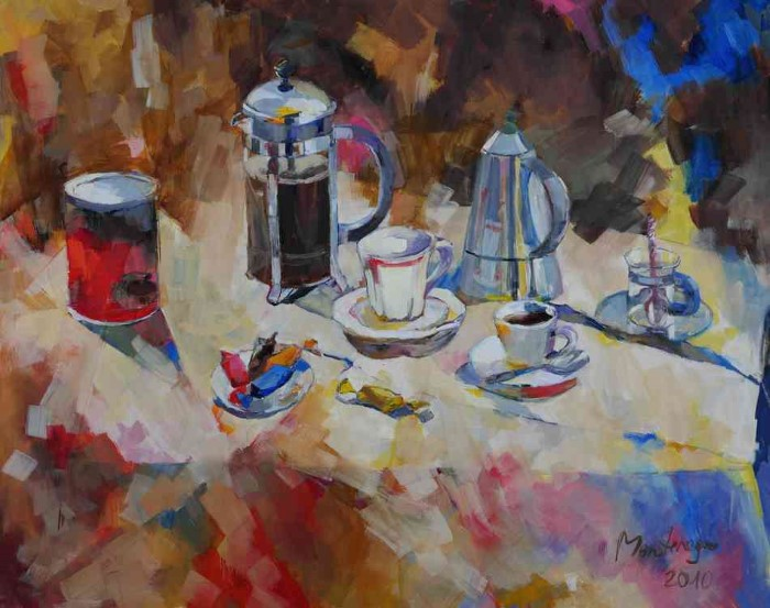 Немецкий художник. Miriam Montenegro