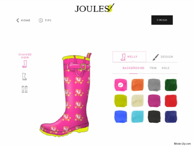 Hot This Autumn - Design Your Own Joules Wellies