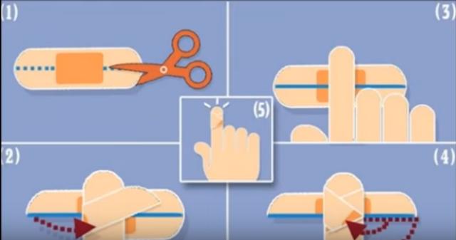 Cara Benar Memasang Plester di Jari Tangan