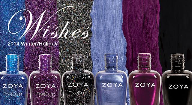 Zoya Holiday/Winter 14 - Zoya Wishes Collection
