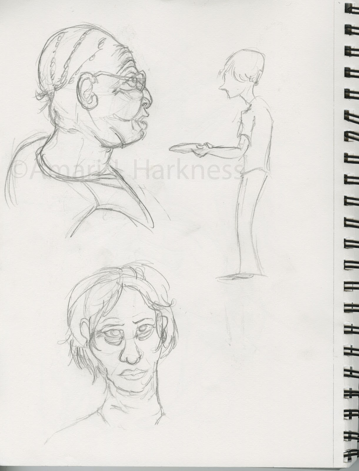 Sketching with Reckless Abandon: September 2012