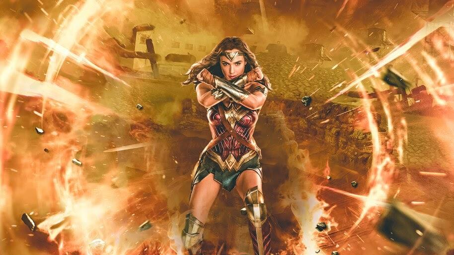 Wonder Woman, Gal Gadot, Justice League, Movie, 4K, #7.1569