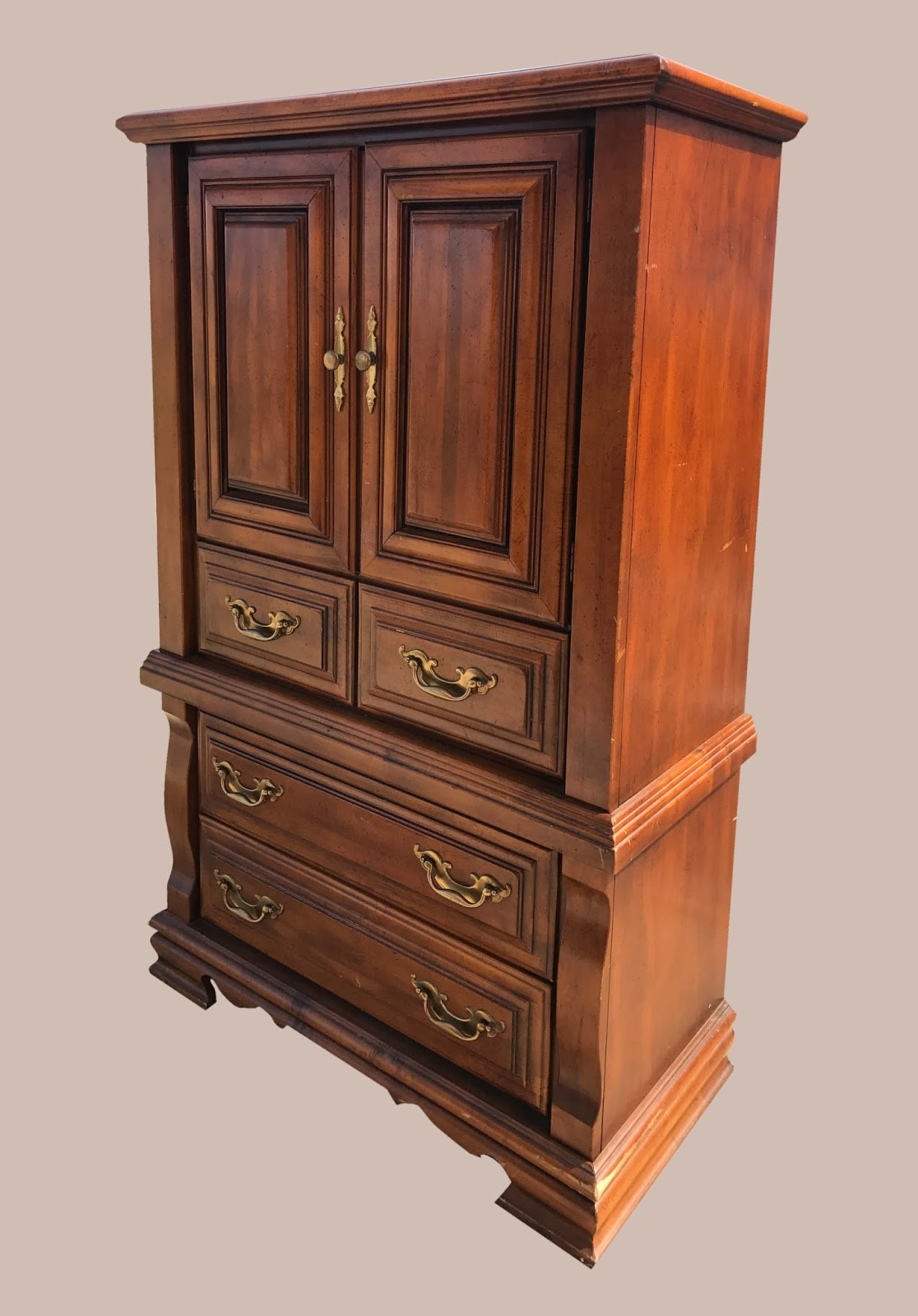 Uhuru Furniture Collectibles Wood Clothing Cabinet 95 Sold