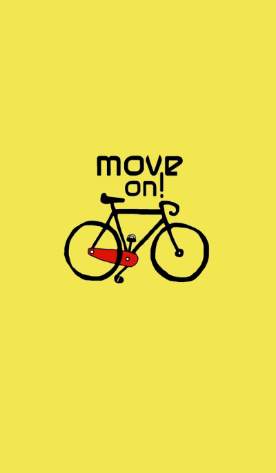 move on, bicycle by kukoy