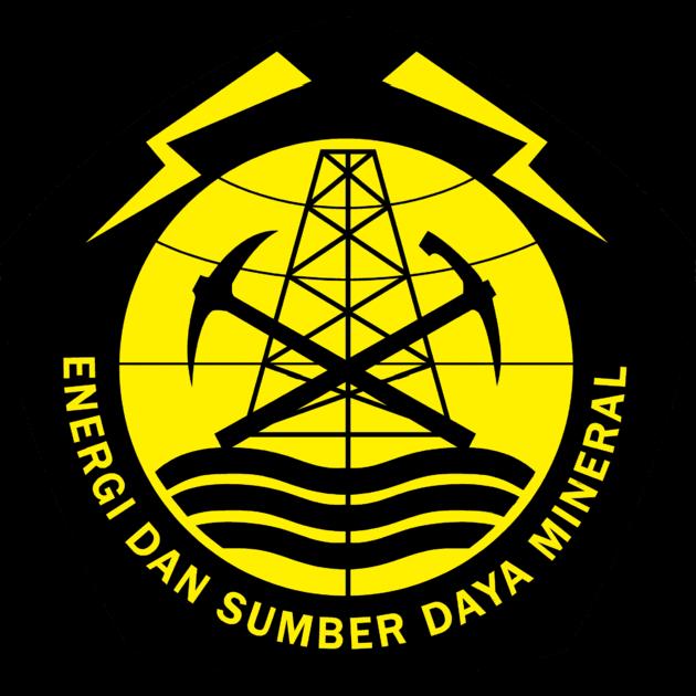 Logo Kementerian Energi dan Sumber Daya Mineral Republik Indonesia
