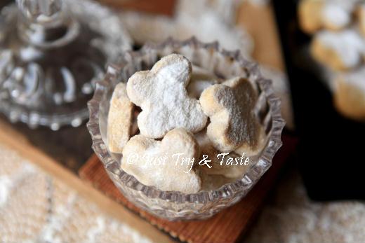 Resep Kue Kering Putri Salju | Just Try & Taste