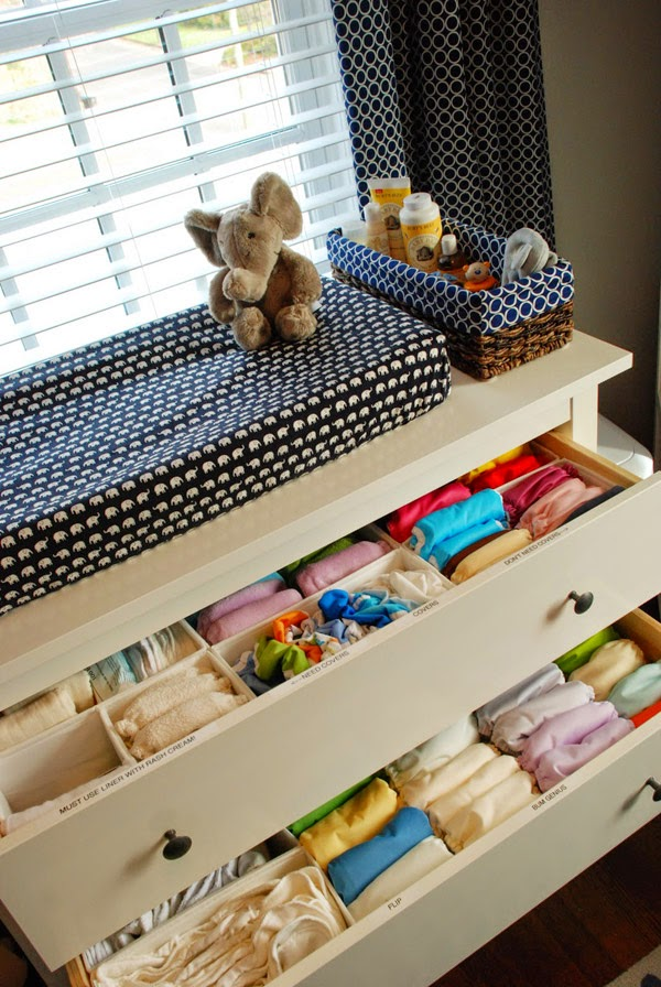 Making My Stead Cloth Diaper Storage Solutions