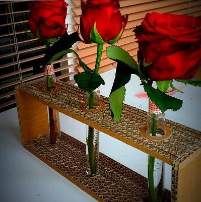 mobilier carton cardboard furniture soliflore