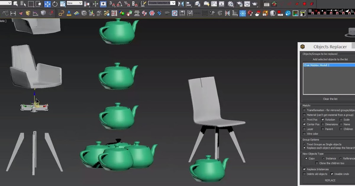 Miauu S Objects Replacer For 3ds Max Plugins Reviews And
