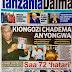 HAYA HAPA MAGAZETI YA LEO JUMATANO FEBRUARI 14,2018 -NDANI NA NJE YA TANZANIA