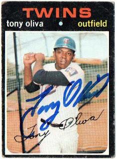 Featured autograph – Tony Oliva