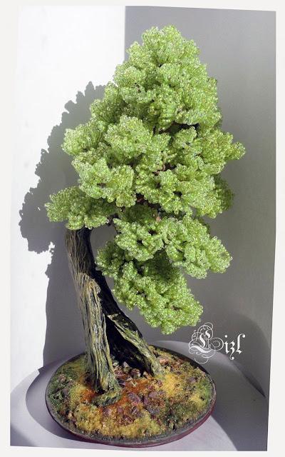 koralikowe drzewka wzory