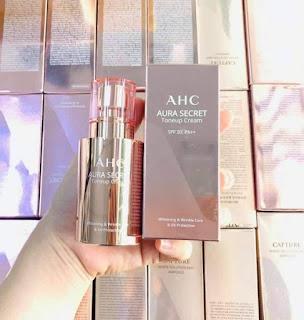 kem AHC Aura Secret hồng