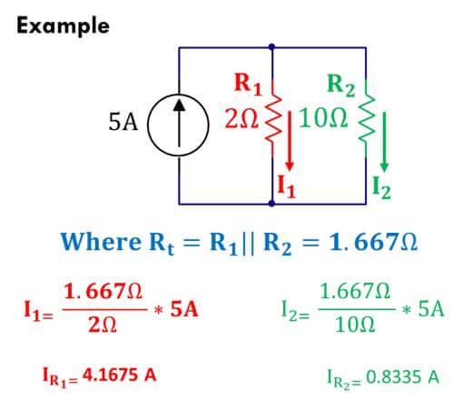 current divider rule current