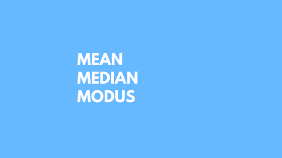 makalah mean median modus