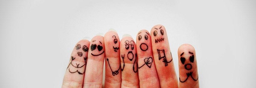 Funny finger family
