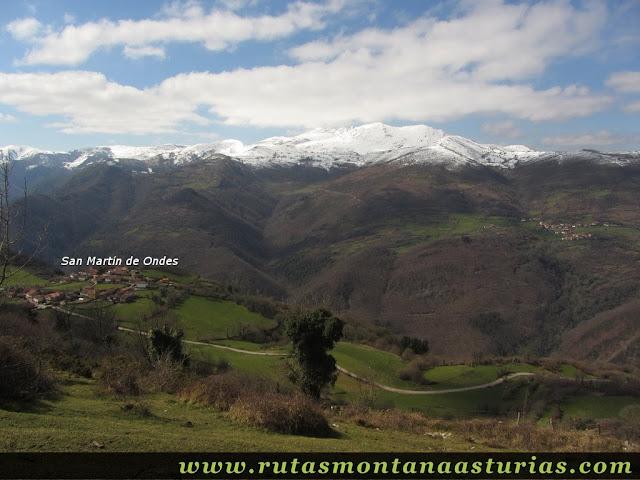 San Martín de Ondes y Sierra de Manteca