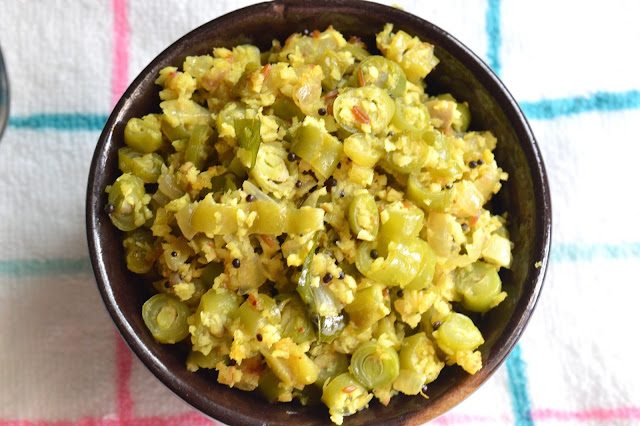 Beans Thoran   French Beans cooked with Spiced coconut   Onam sadya Recipe