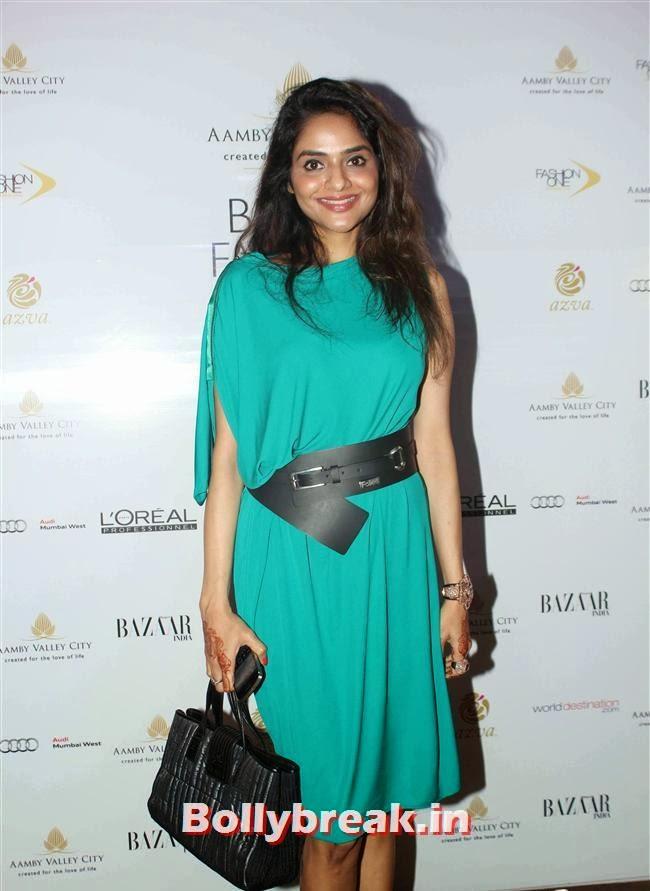 Madhoo Shah, Bollywood Celebs at India Bridal Fashion Week