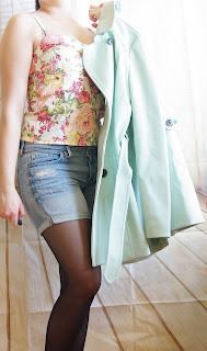 Outfit Floral & Pastel