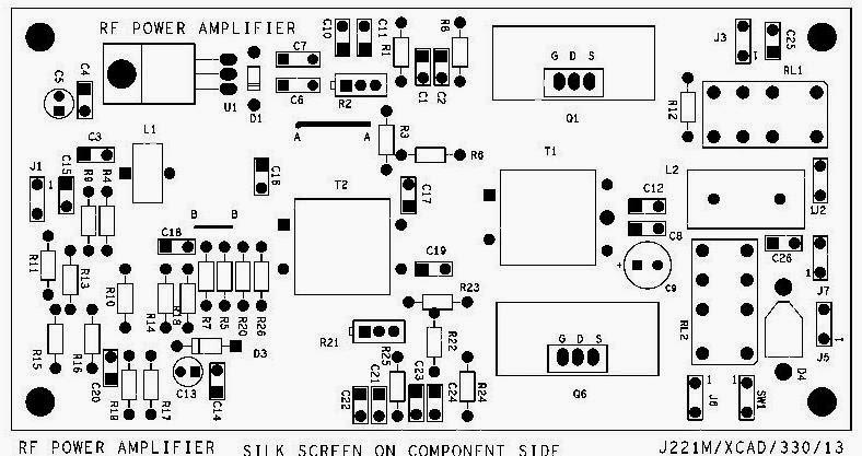 Ham Radio MIPL: SB-7 TRANSCEIVER RF AMPLIFIER SCHEMATIC