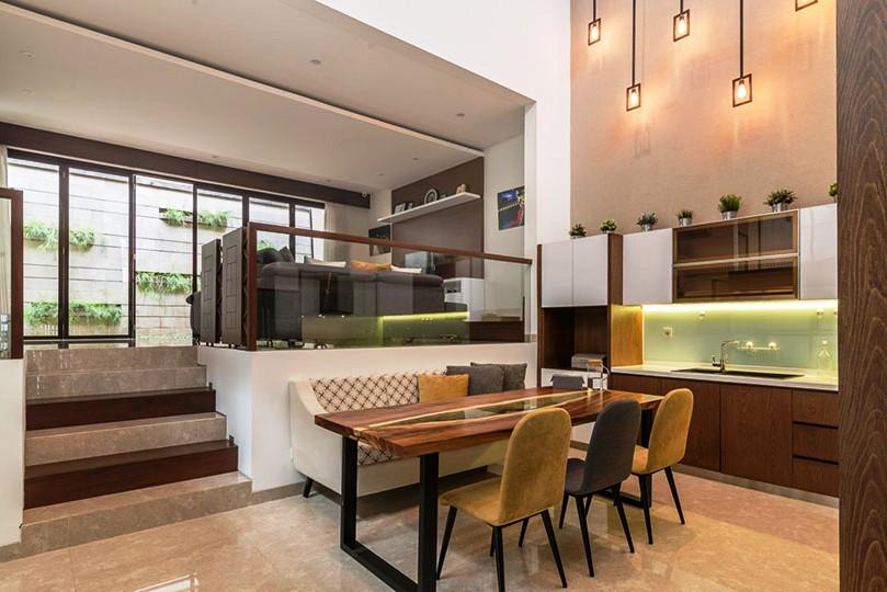 Contoh Desain Interior Rumah Split Level Minimalis