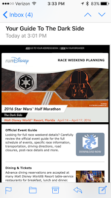 Guide to the Star Wars Half Marathon running race