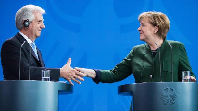 Merkel: Si no se entiende con EEUU, la UE debe hacerlo con otros