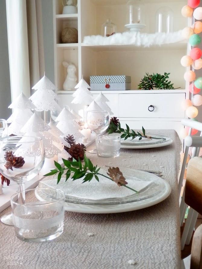 Decor Table Blanc