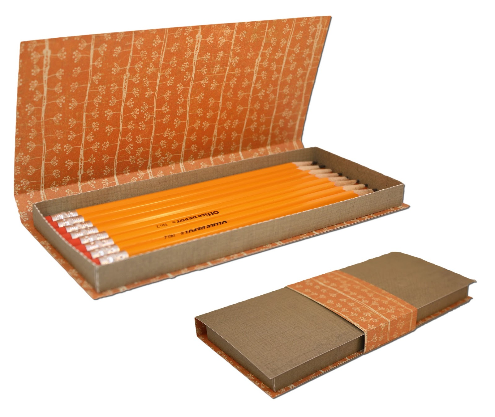 Pencil Box with Wrap