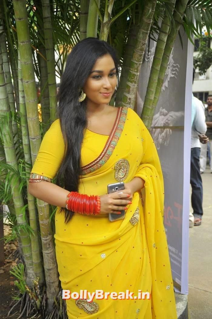Swathi Photo Gallery, Kollywood Actress Swathi hot Pics in yellow Saree