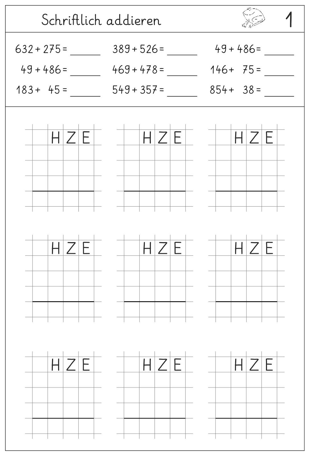 lernst252bchen schriftlich addieren