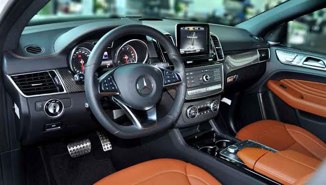 Nội thất Mercedes AMG GLE 43 4MATIC Coupe 2017 thể thao, sang trọng và đẳng cấp