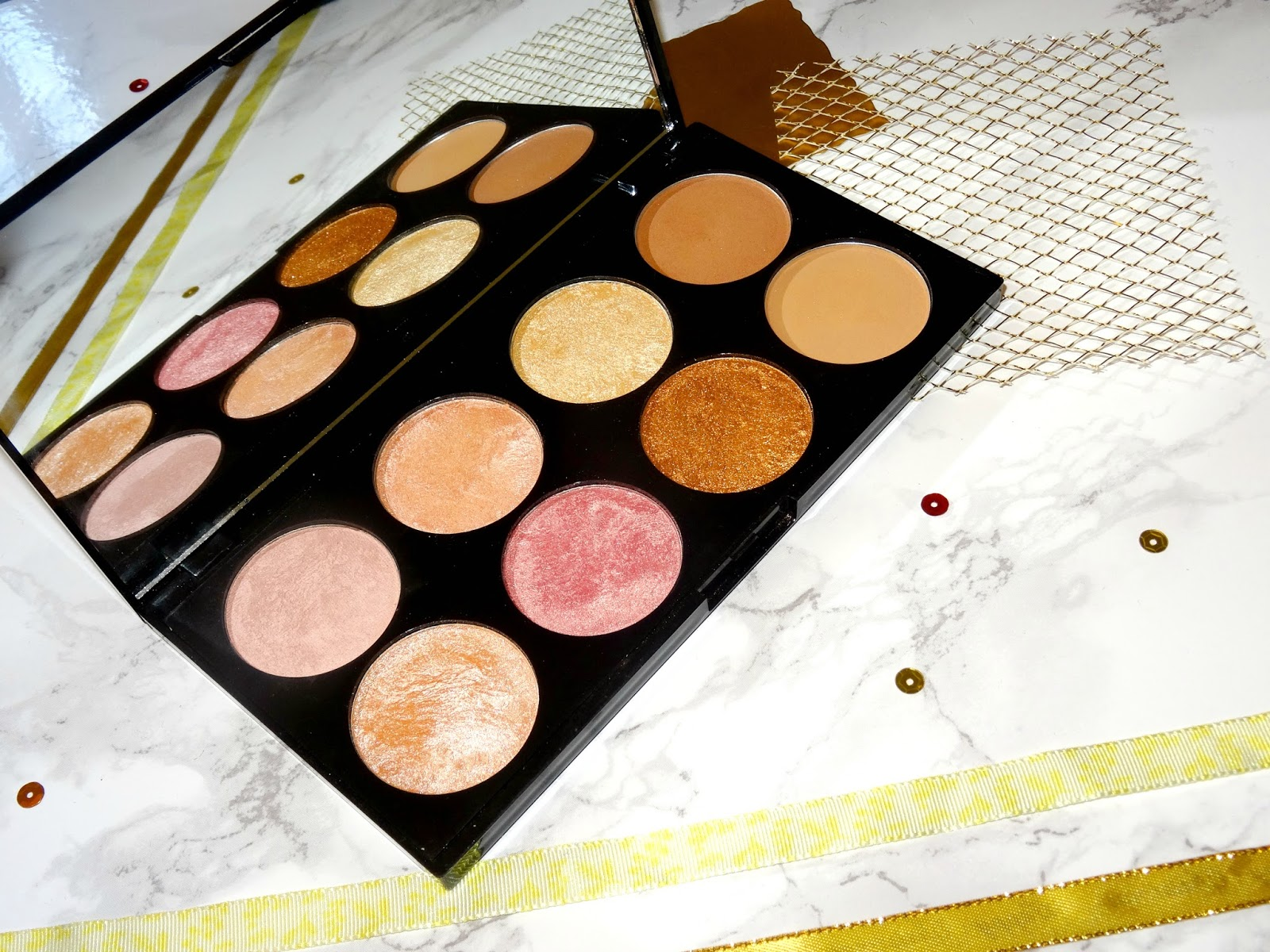 Makeup Revolution Golden Sugar 2 Ultra Blush Palette Review