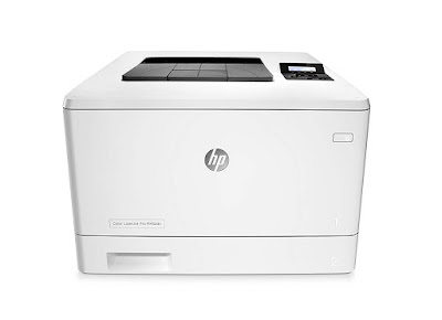 This printer wakes upward together with prints faster than the contest HP LaserJet Pro M452dn Driver Downloads