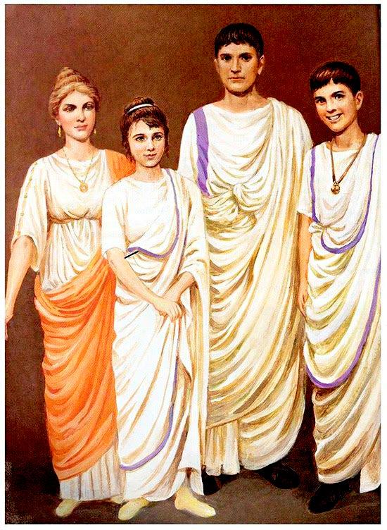 Matrimonio In Epoca Romana : L abbigliamento romano romanoimpero