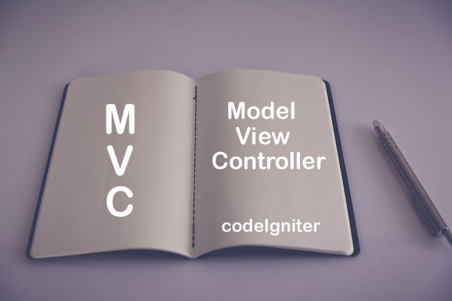 Model, View and Controller in CodeIgniter