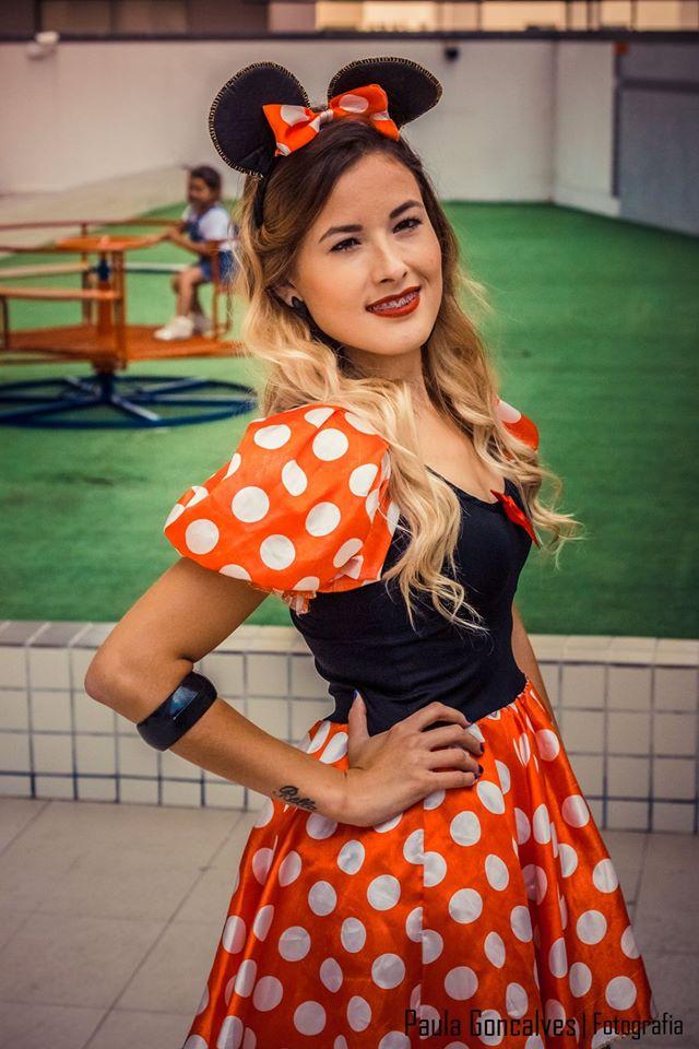 Sandália Vermelha de Laço Bebecê - Ally Arruda -Festa Blogueiras de Curitiba