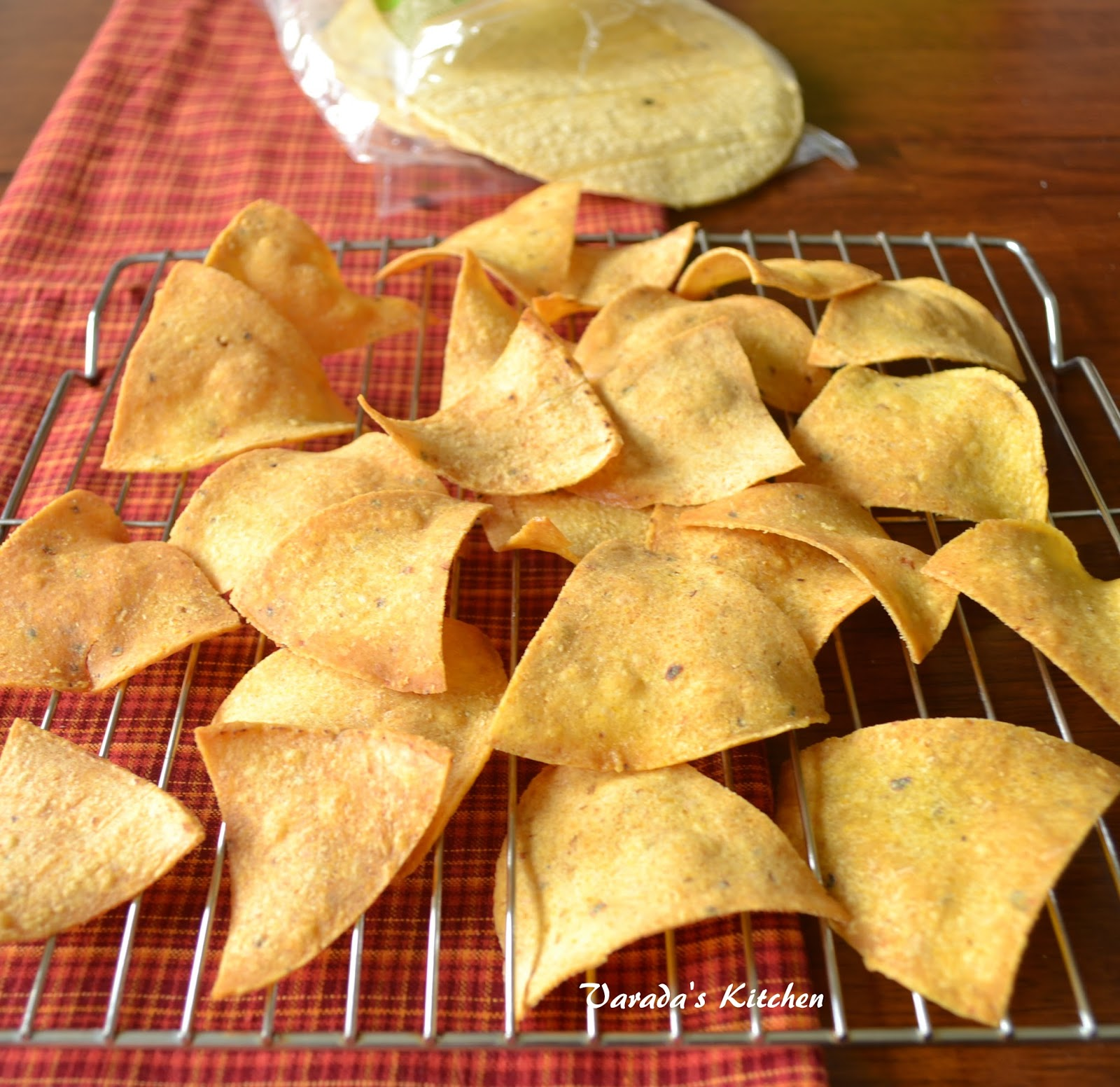 Varada 39 s kitchen tortilla chips for What can i make with tortilla chips