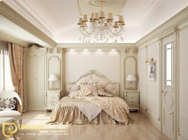 Phòng ngủ phong cách tân cổ điển 02