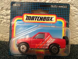 Matchbox 1993 MB-52 * Isuzu Amigo * OVP