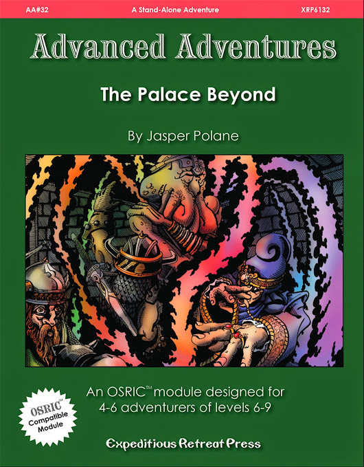 Advanced Adventures #32: The Palace Byond Cover
