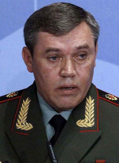 """General Valery Gerasimov: """"O uso escancarado das forças militares é só para a fase final do conflito"""""""