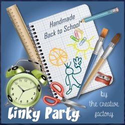 Handmade Back to School Linky Party - MLI