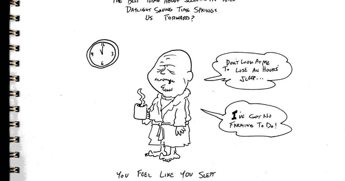 Inside Jeff Overturf's Head: Daylight Saving Time