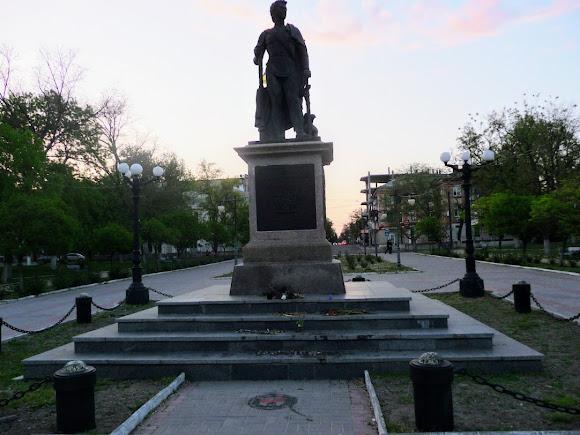Херсон. Пам'ятник Григорію Потьомкіну