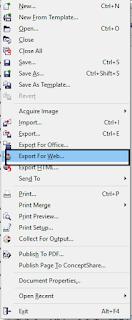Tips Supaya Warna Tidak Berubah Ketika Export Gambar di Corel Draw