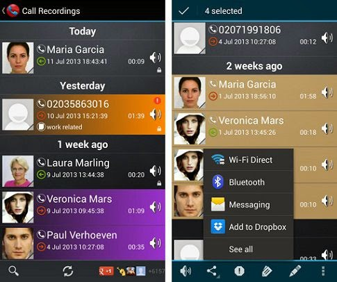 Android Mobile Phone Auto Call Recorder Apps image photo