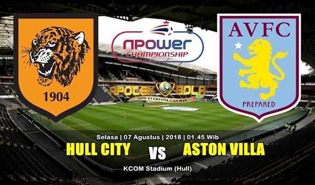 Prediksi Hull City vs Aston Villa 7 Agustus 2018