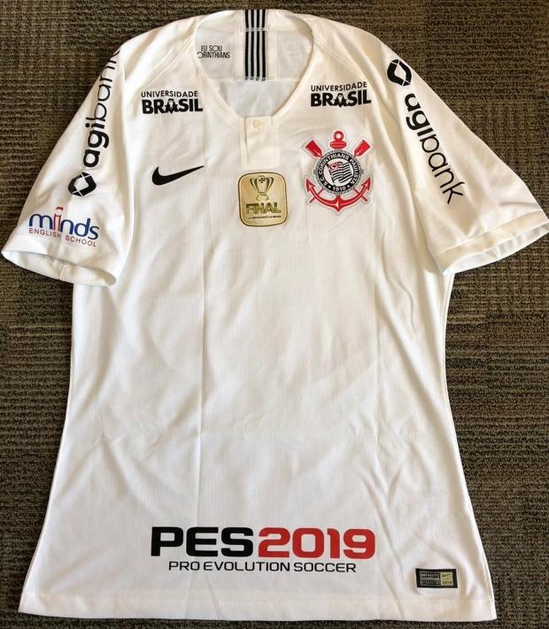 2511a2043d Corinthians divulga a camisa para a final da Copa do Brasil - Show ...